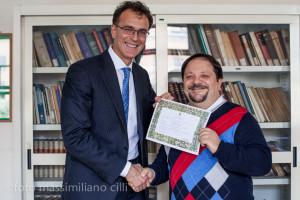Prof. Apuzzo e dott. Saffiati