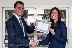 Prof. Apuzzo e dott.ssa Cassata