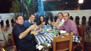 Cena cubana con Silvia Menendez, Pierangelo Bianchi e Alberto Petrosellini