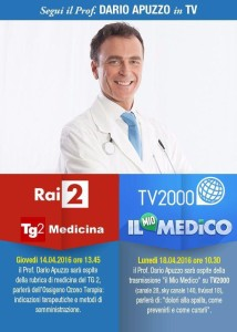 Prof. Apuzzo in tv